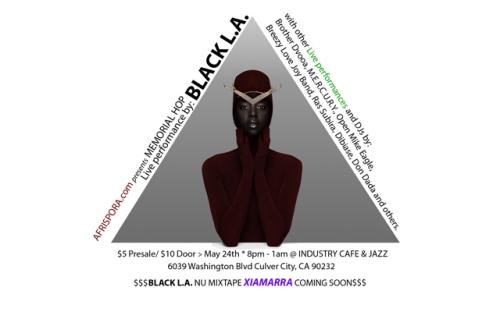Black L.A. Afrispora Flyer-01